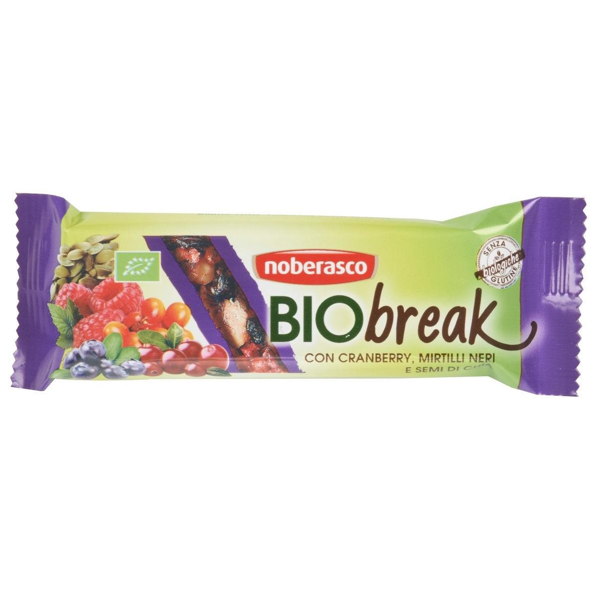 Noberasco Barretta Bio Break