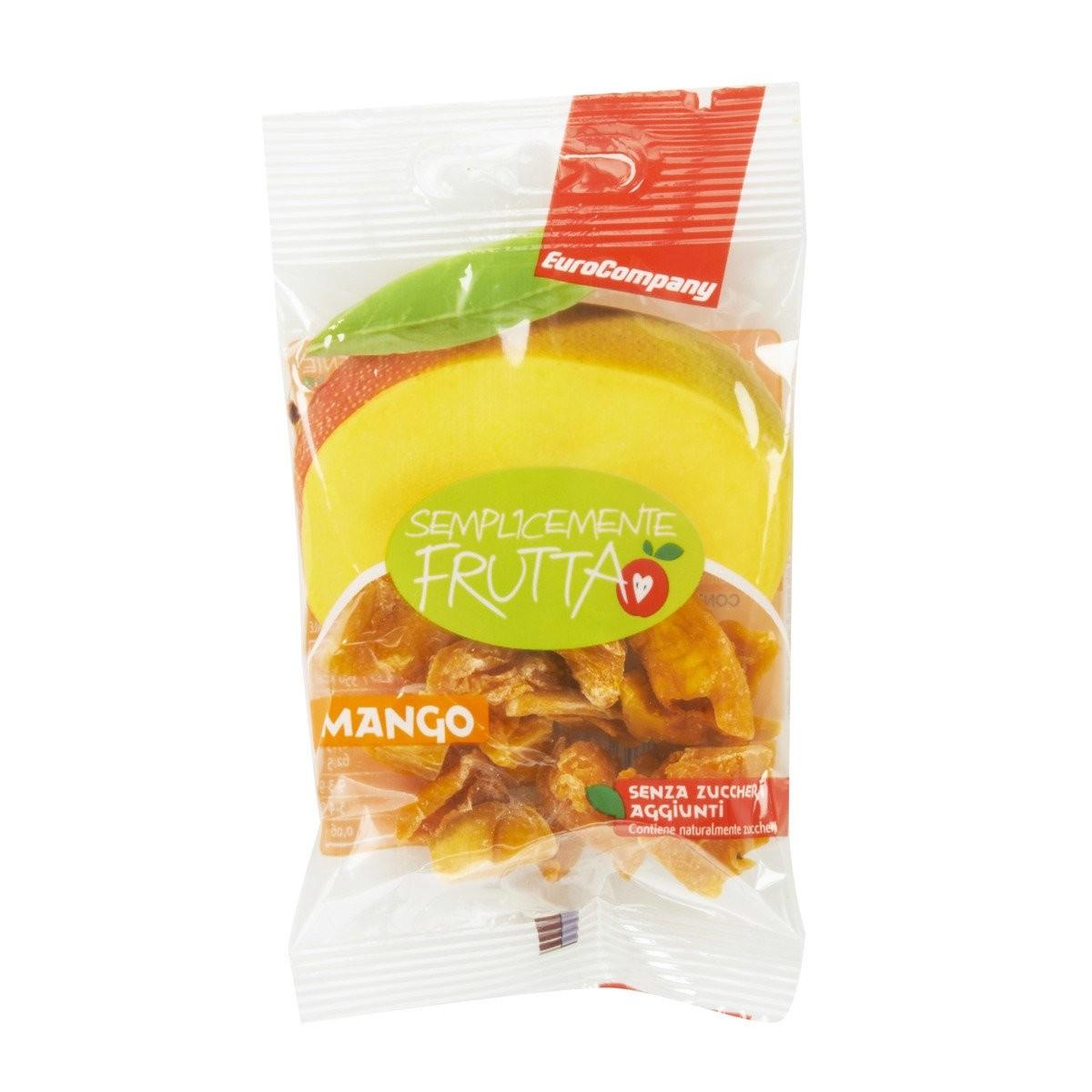 EuroCompany Mango essiccato Semplicemente Frutta
