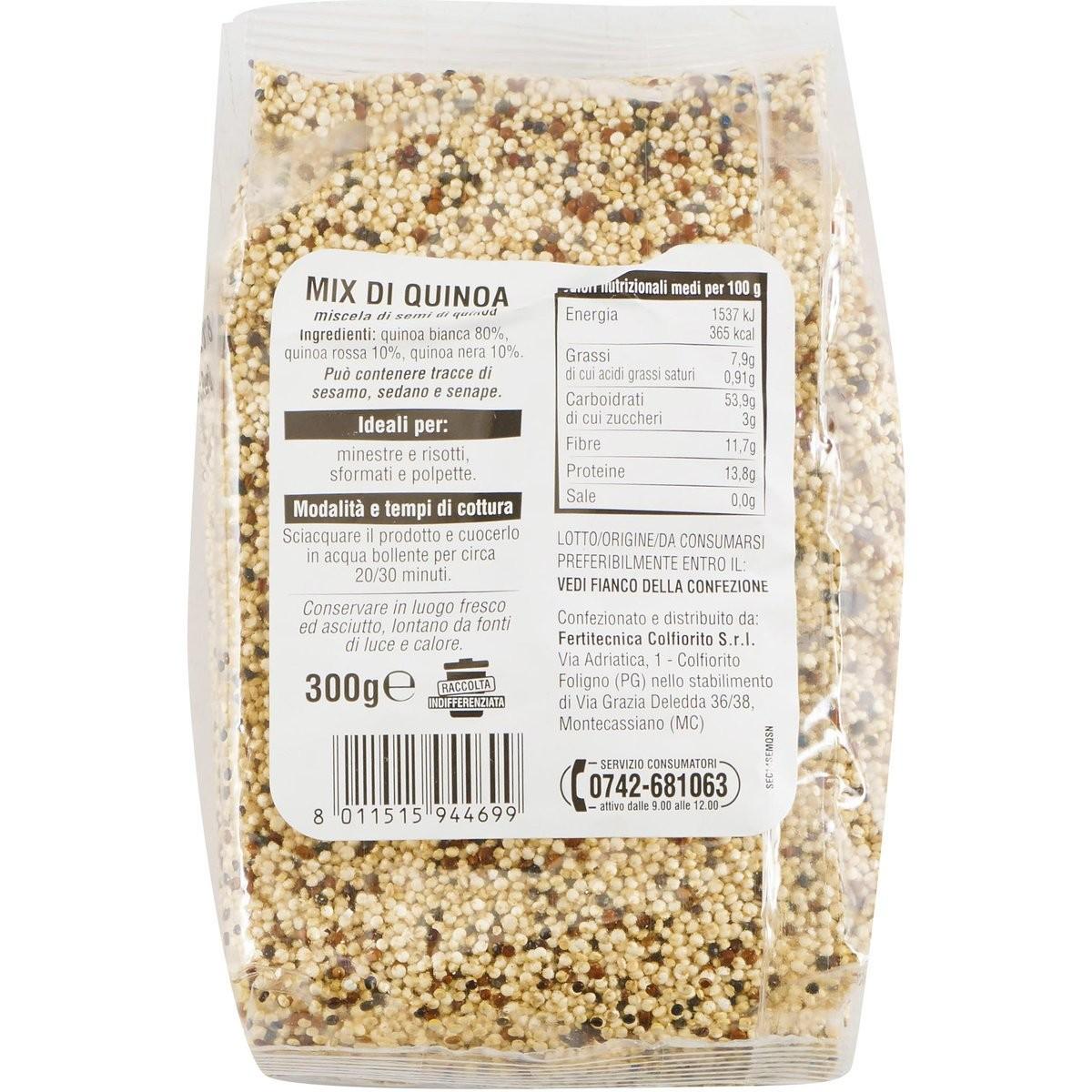 Mix di quinoa