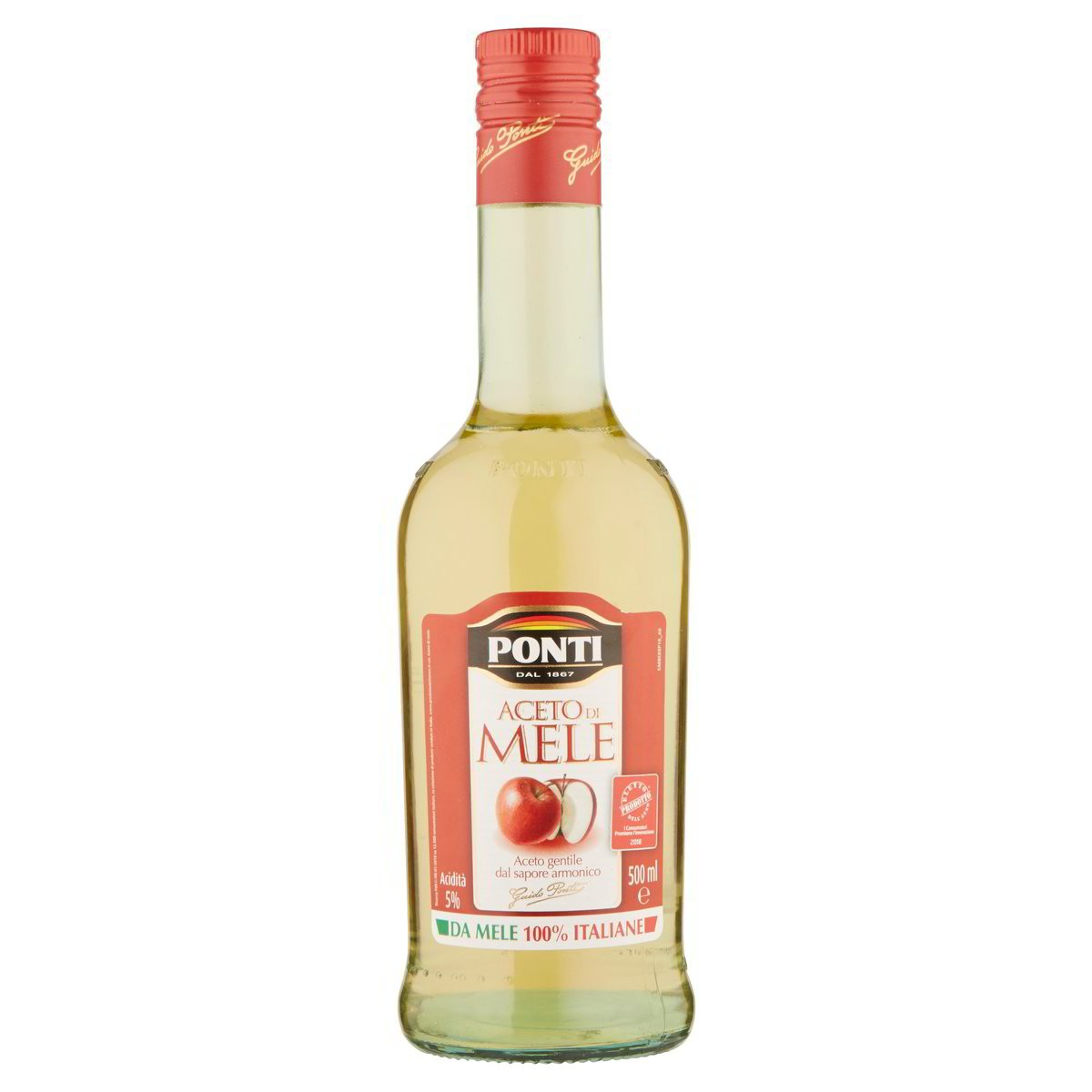 Ponti Aceto di mele 100% italiane