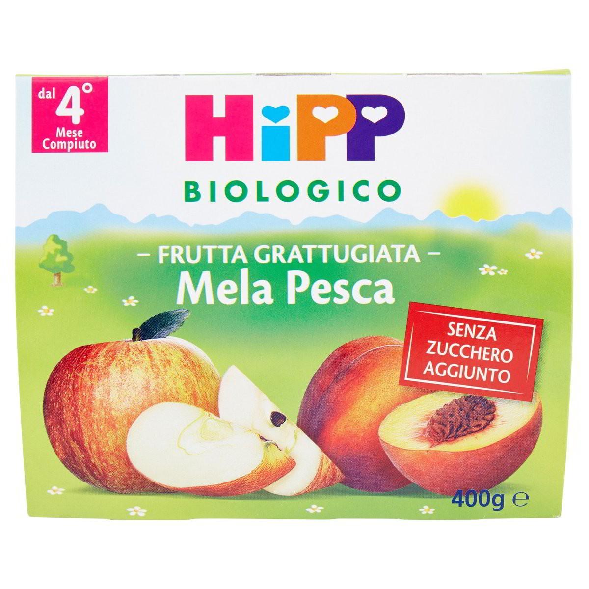 HiPP Biologico Frutta Grattuggiata