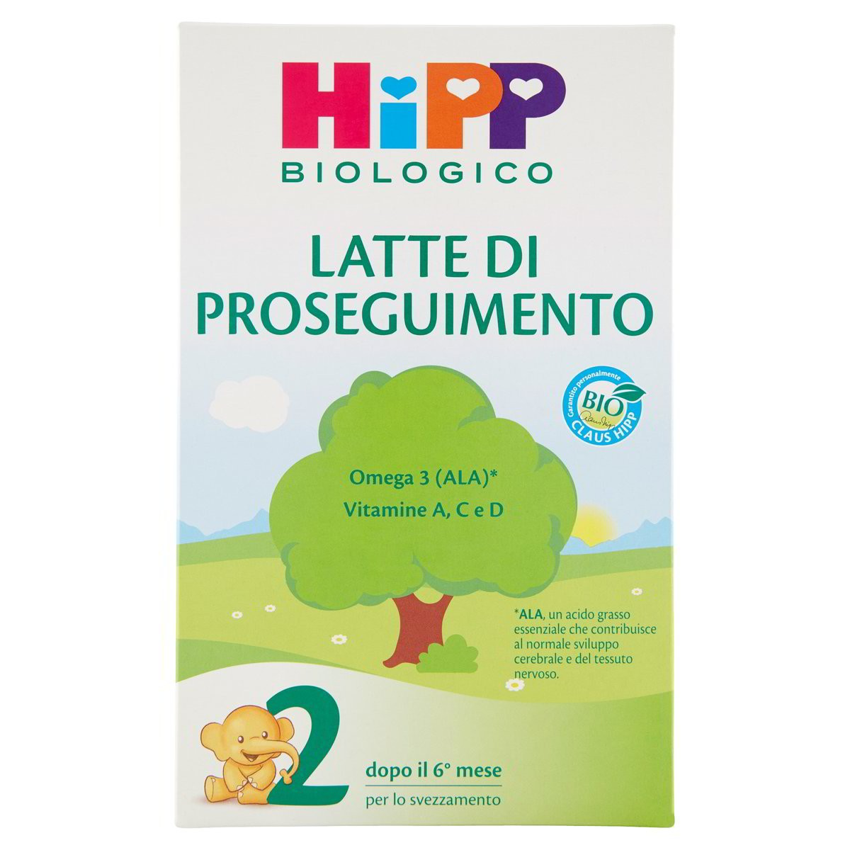 Hipp Biologico Latte in polvere di proseguimento 2