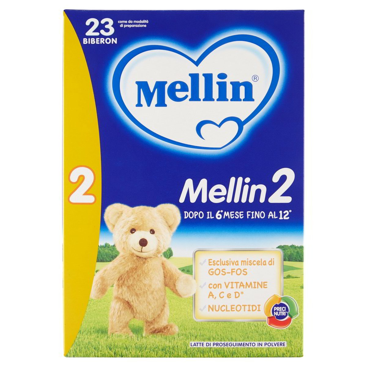Mellin Latte in polvere di proseguimento Mellin 2