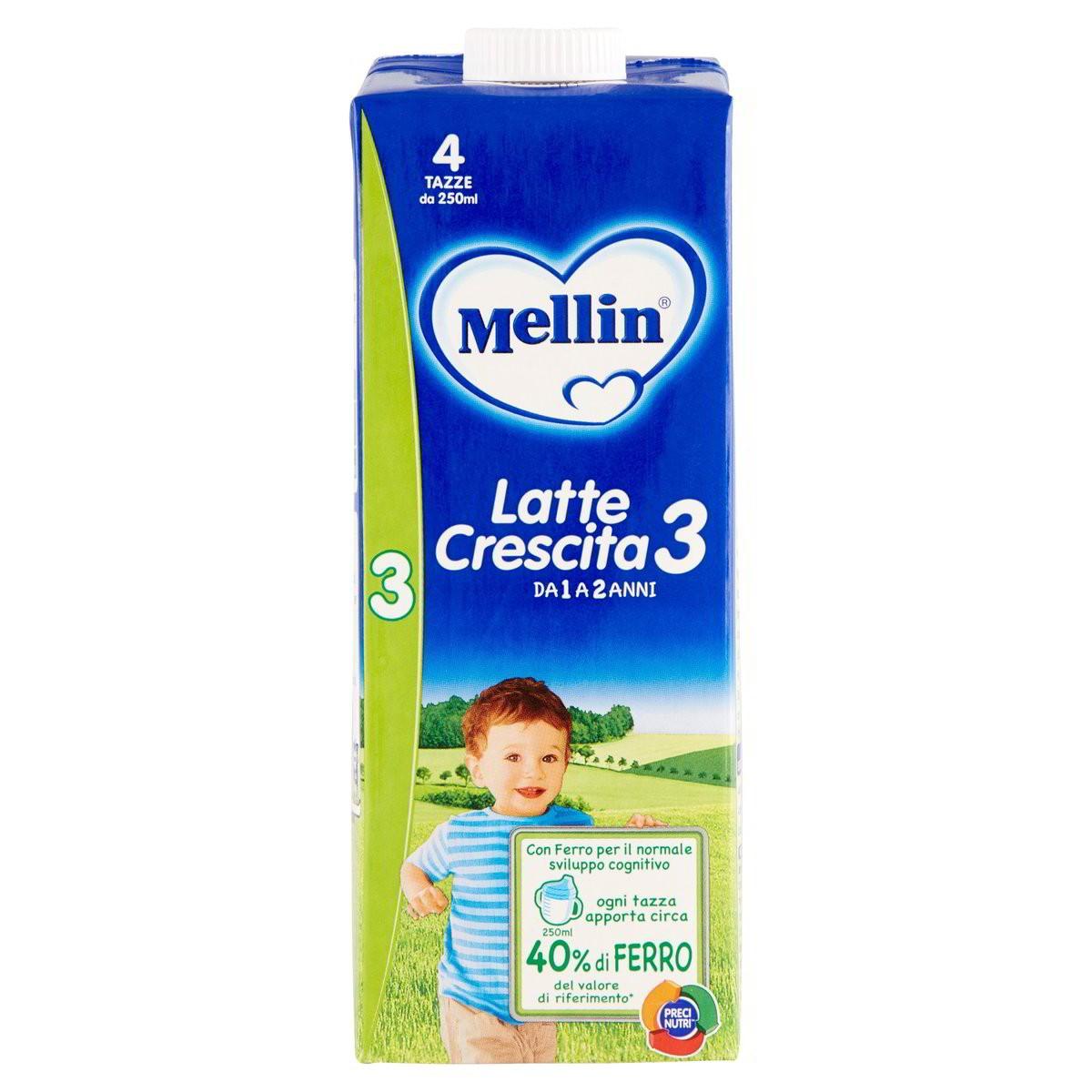 Mellin Latte liquido di crescita 3