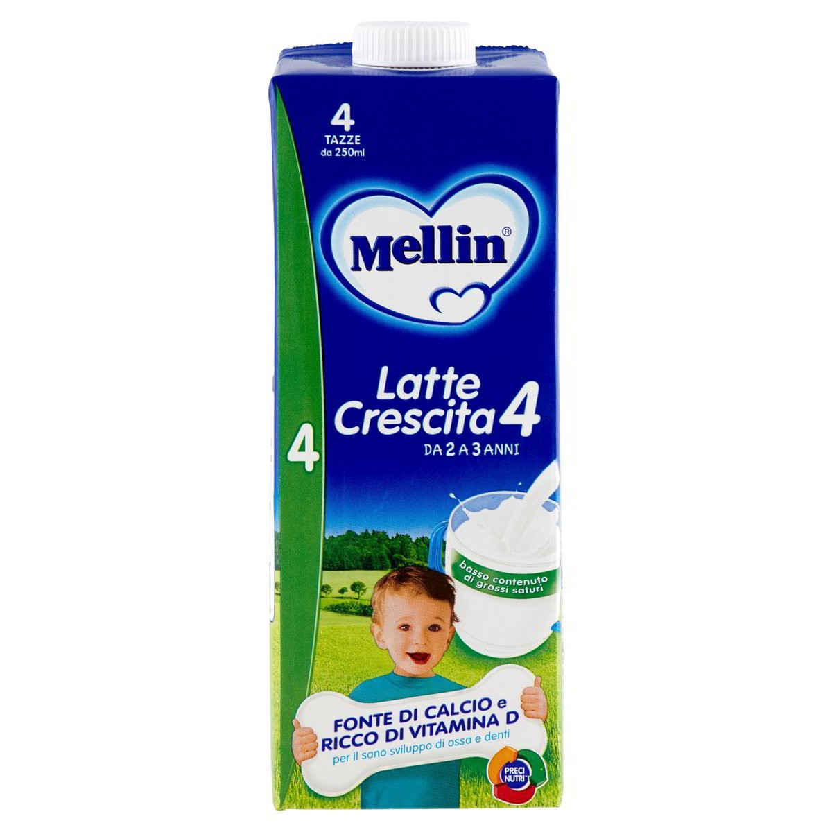 Mellin Latte liquido di crescita 4