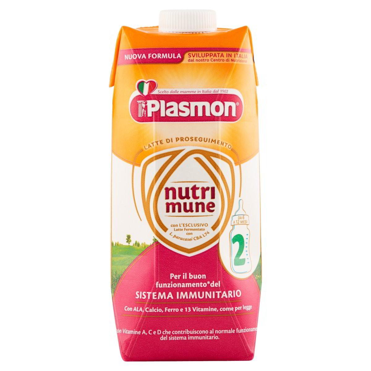 Plasmon Latte liquido Nutrimune 2