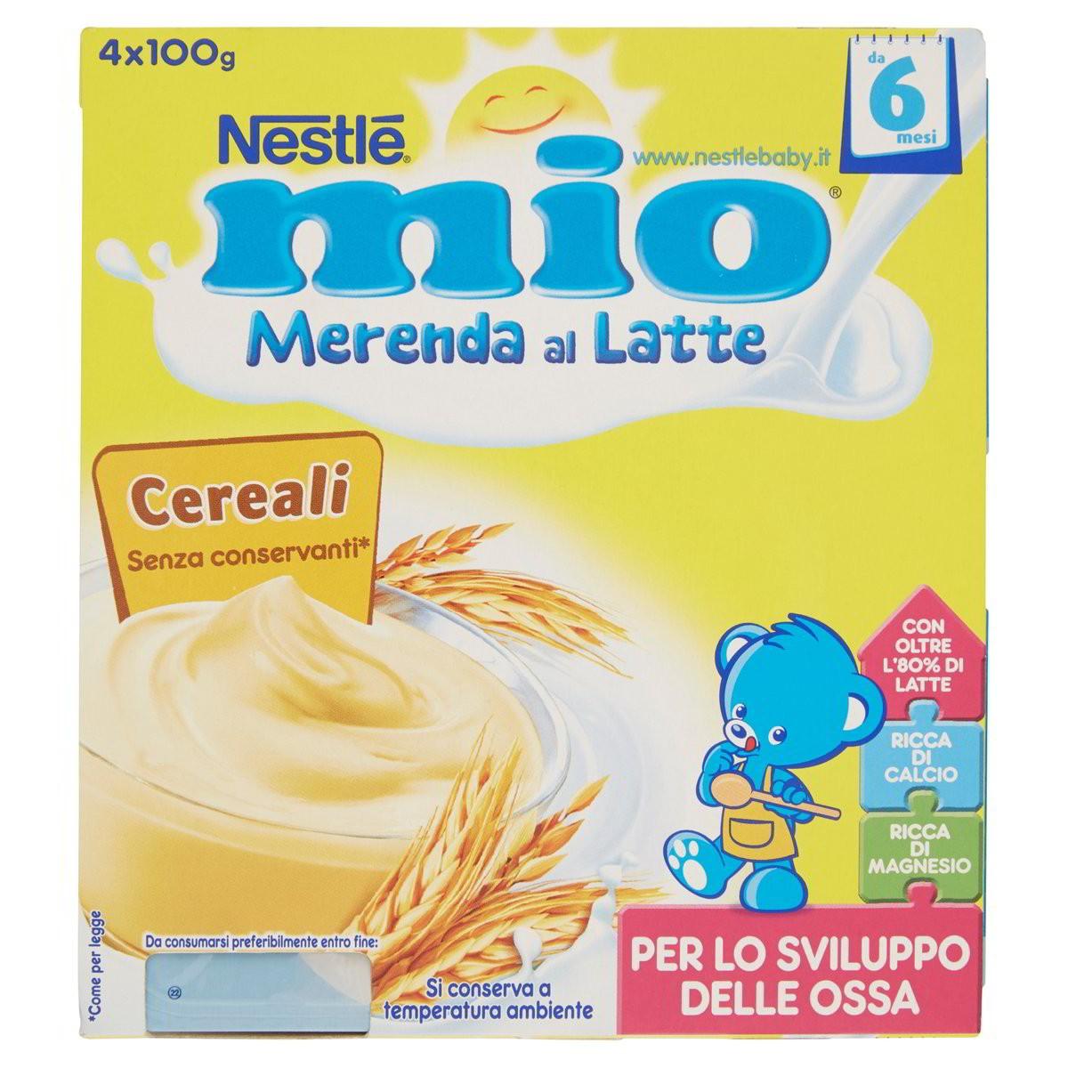 Nestlè Merenda al latte Mio