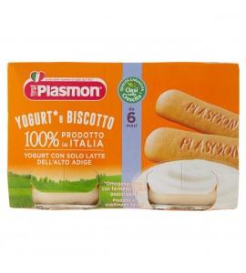 Plasmon Merenda Omogeneizzato Yogurt E Biscotto