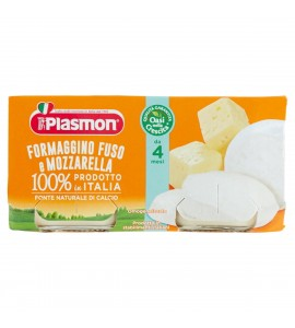 Plasmon Omogeneizzato Formaggino E Mozzarella