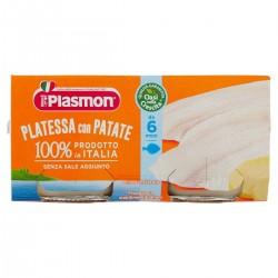 Plasmon Omogeneizzato di Platessa Con Patate