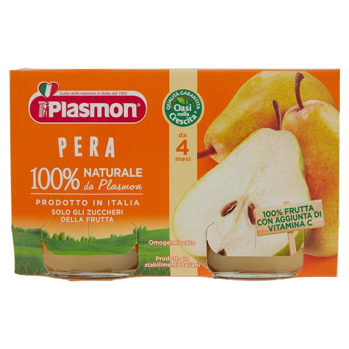 Plasmon Omogeneizzato di frutta