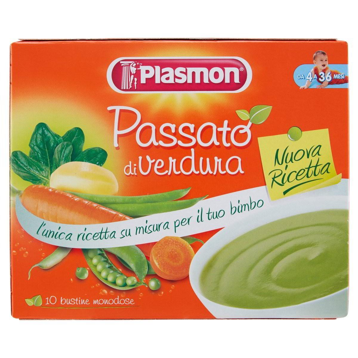 Plasmon Passato di verdure Oasi nella crescita