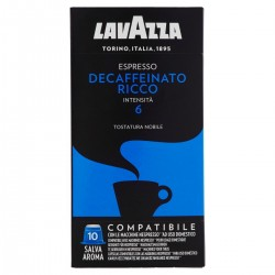 Lavazza Capsule caffè Espresso Decaffeinato Ricco