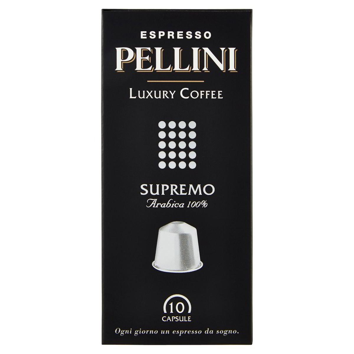 Pellini Luxury Coffee Capsule caffè Espresso Supremo