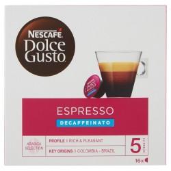 Nescafè Dolce Gusto Nestlè Capsule caffè Espresso Decaffeinato