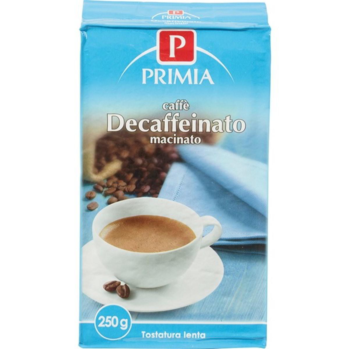 Primia Caffè decaffeinato macinato
