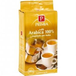 Primia Caffè 100% arabica macinato per moka