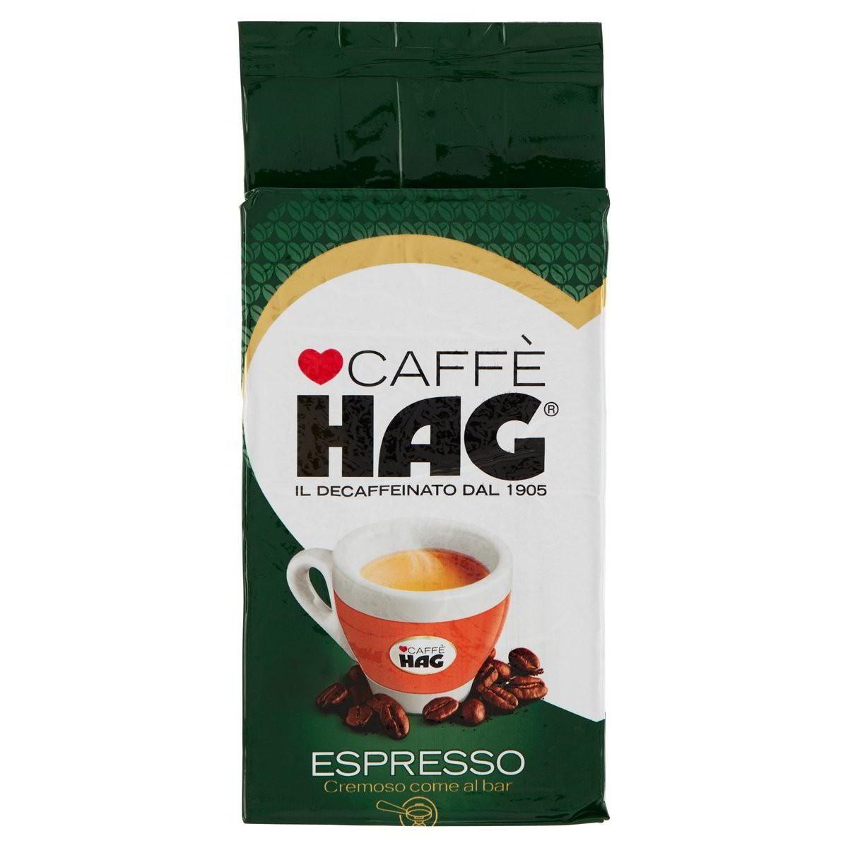 Hag Caffè decaffeinato naturale Espresso