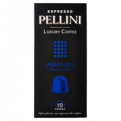 Pellini Luxury Coffee Capsule caffè Espresso Absolute