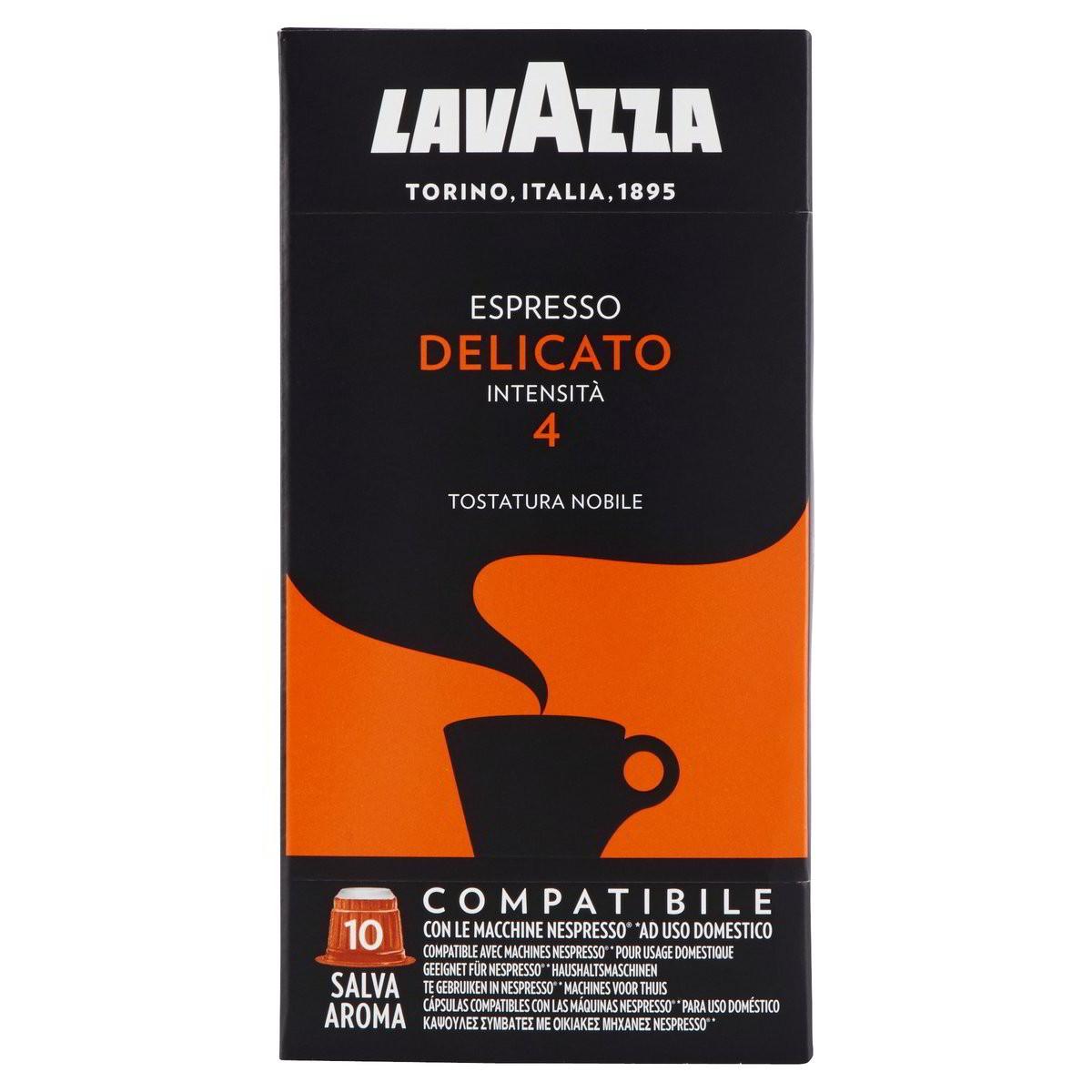 Lavazza Capsule caffè Espresso Delicato