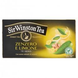 Sir Winston Tea Tè Nero allo zenzero e limone
