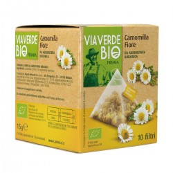 Primia Camomilla fiore Via Verde Bio