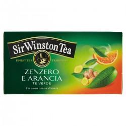Sir Winston Tea Tè verde allo zenzero e arancia