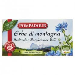 Pompadour Infuso alle erbe di montagna bio