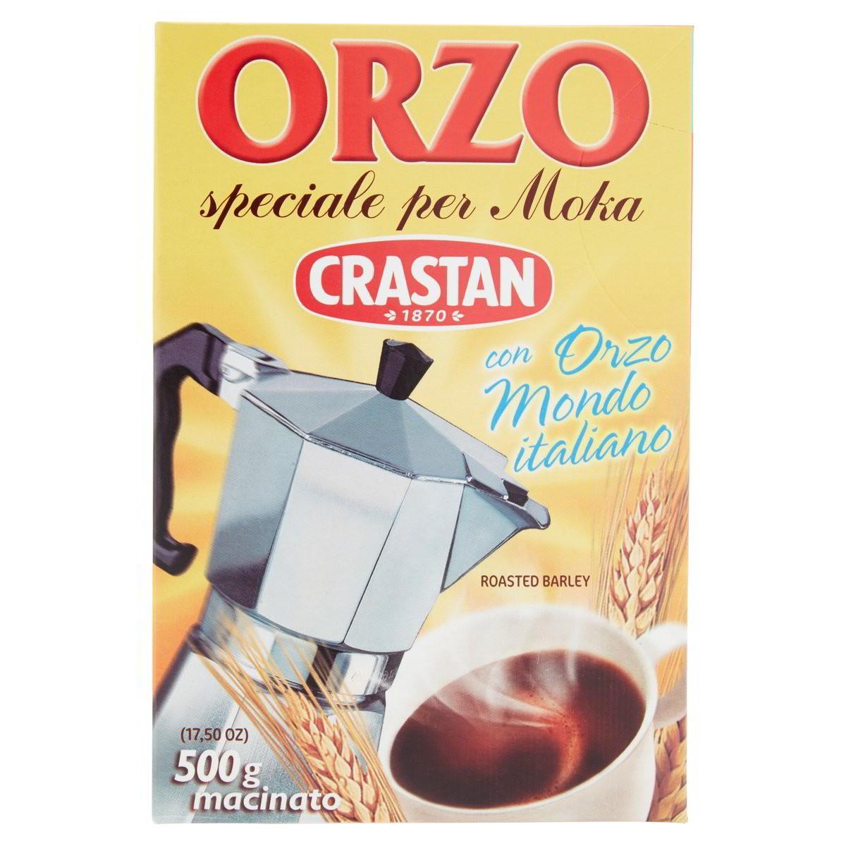 Crastan Orzo macinato speciale per Moka