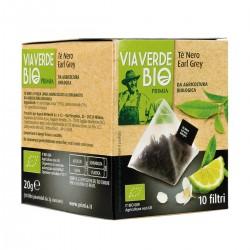 Primia Tè nero Earl Grey Via Verde Bio
