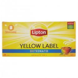 Lipton Tea Yellow Label deteinato
