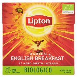 Lipton Tè nero gusto intenso bio