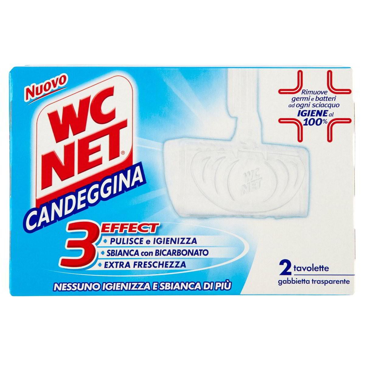 WC net Tavolette per WC Candeggina
