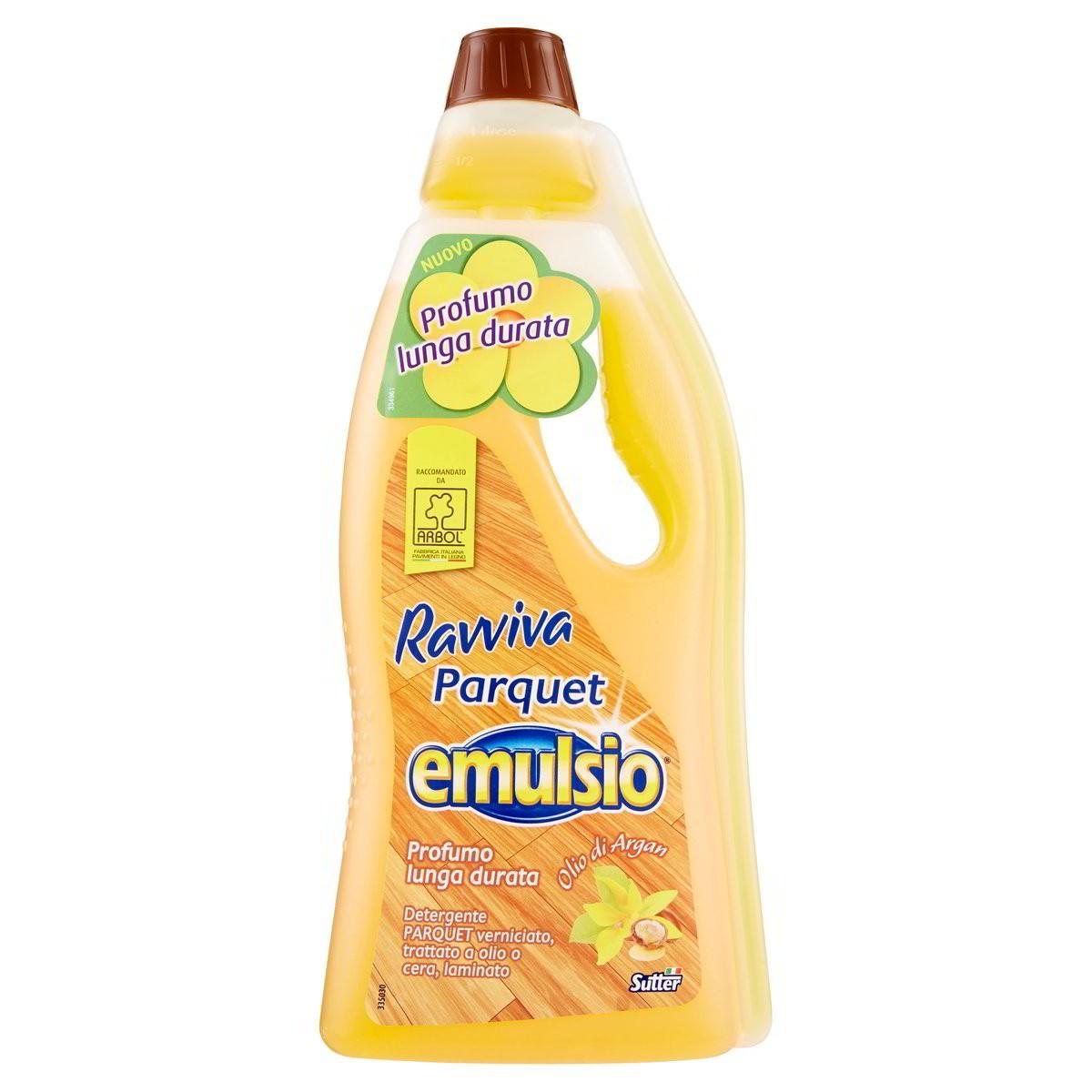 Emulsio Detergente Ravviva Parquet e Legno