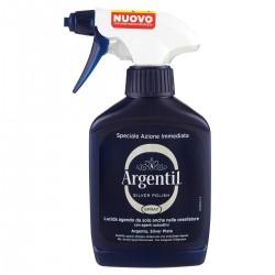 Argentil Detergente spray lucidante per Argento
