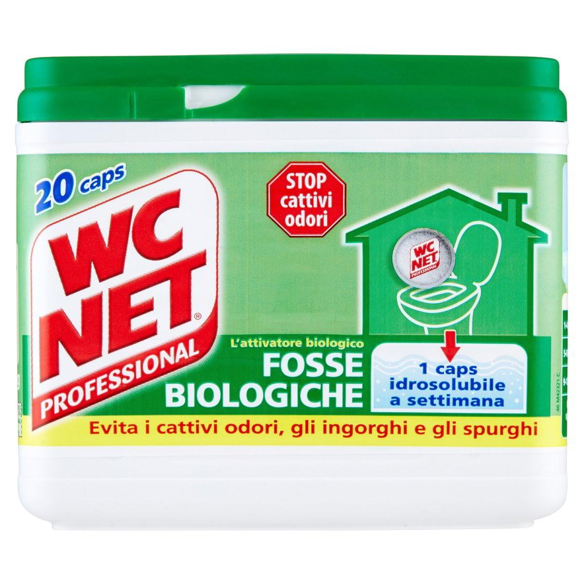 WC net Detergente fosse biologiche