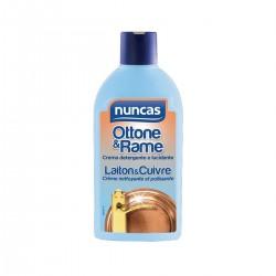 Nuncas Crema detergente e lucidante Ottone&Rame