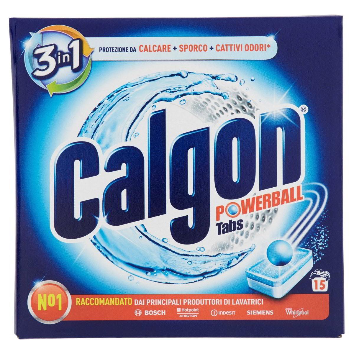 Calgon Anticalcare per lavatrice in pastiglie