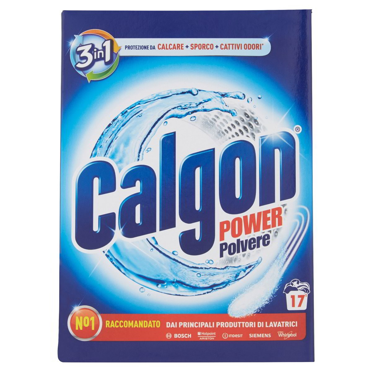 Calgon Polvere anticalcare per lavatrice