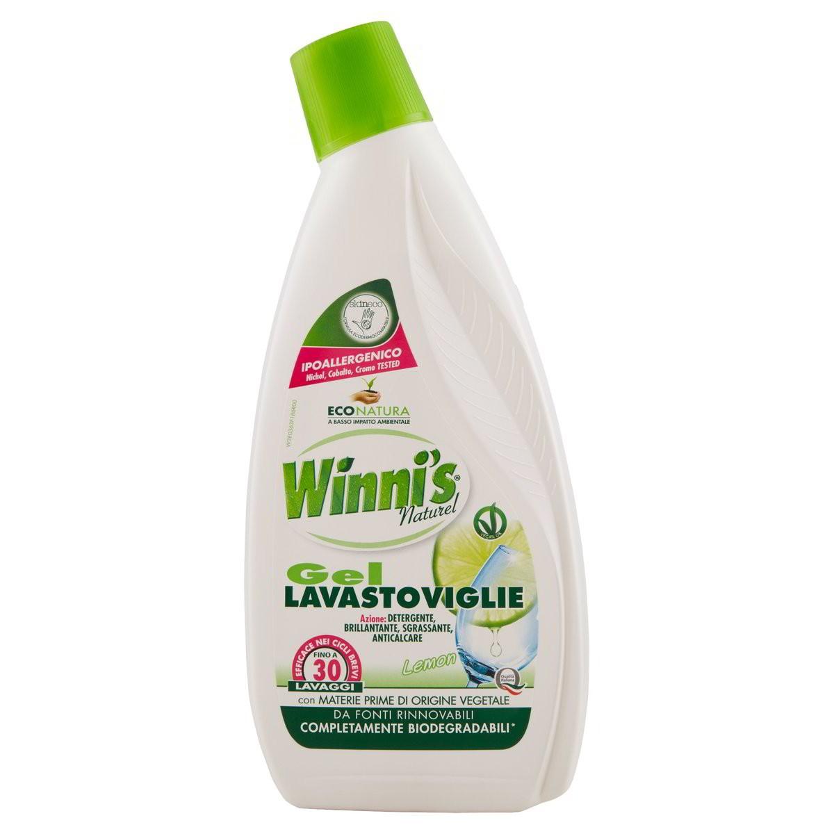 Winni's Detersivo per lavastoviglie in gel ecologico