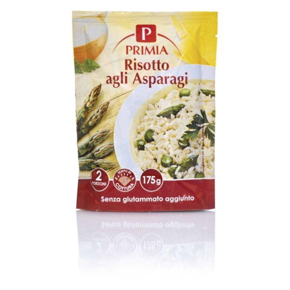 Primia Risotto con asparagi