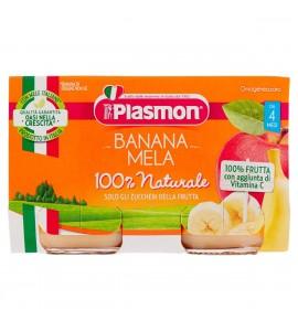 Plasmon Omogeneizzato di frutta alla Banana con Mela