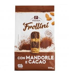 Frollini con mandorle e cacao