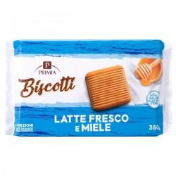 Biscotti con latte e miele