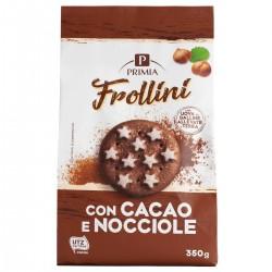 Frollini al cacao con nocciole