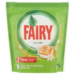 Fairy Platinum All in One Caps per lavastoviglie Arancia