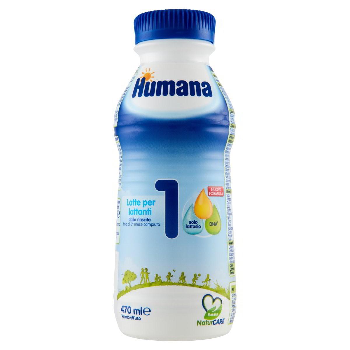 Humana Latte liquido per lattanti 1