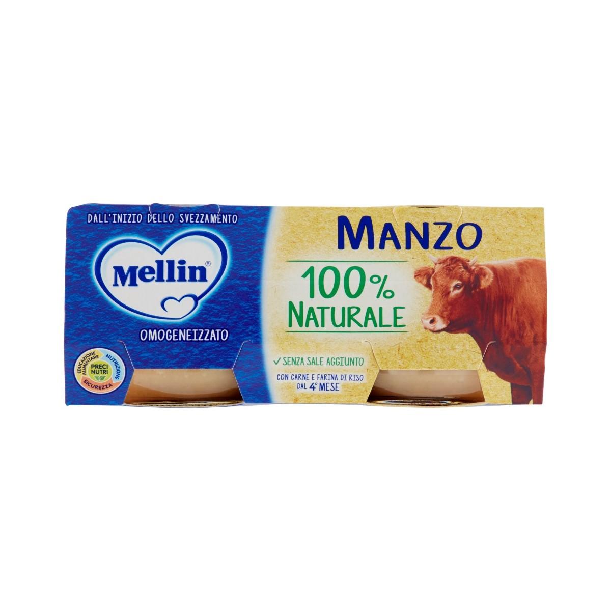 Mellin Omogeneizzato Manzo