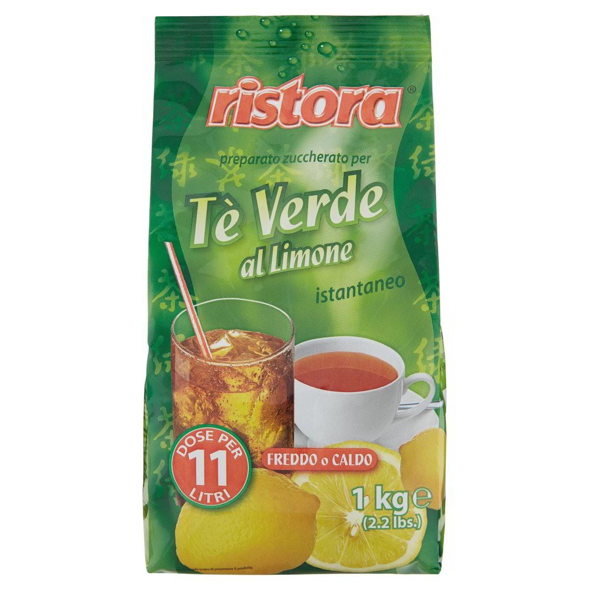 Ristora Tè Verde Istantaneo Limone