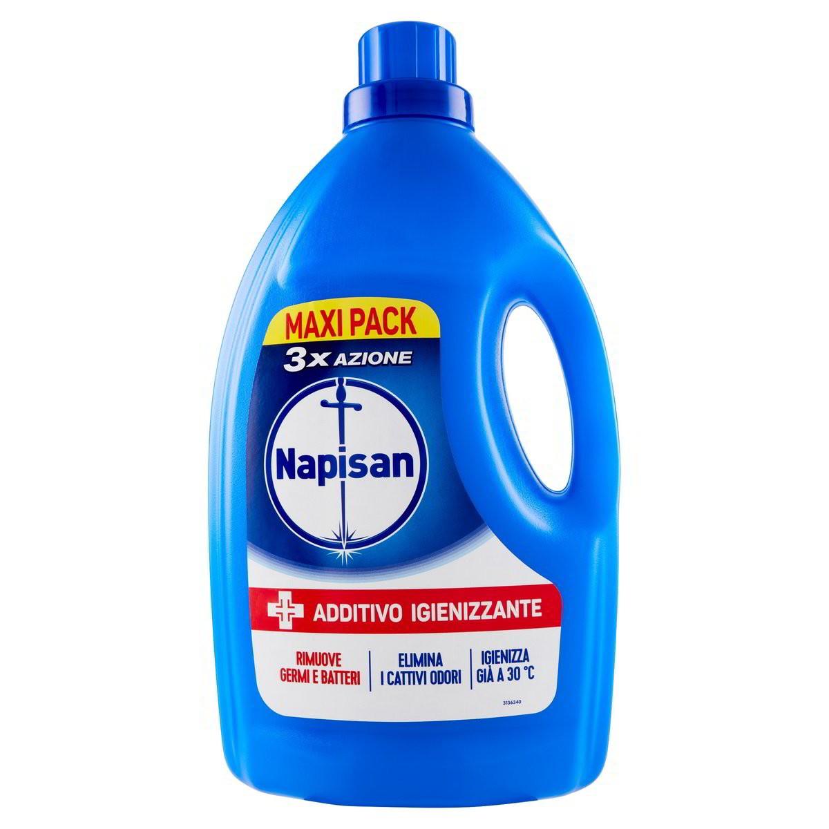 NAPISAN Detersivo Liquido Lavatrice Igienizzante